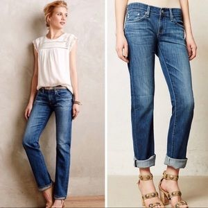 AG JEANS TOMBOY RELAXED STRAIGHT LEG
